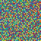 Bezszwowy wzór geometryczni kształty Kolorowy mozaiki tło royalty ilustracja