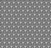 Bezszwowy wzór (Hex opierający się) Obraz Stock