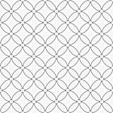 Bezszwowy wzór kółkowe linie geometryczna tapeta niezwykły Obraz Stock