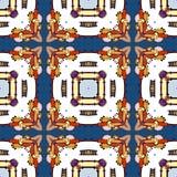 Bezszwowy wzór kolorowy kalejdoskop Zdjęcia Royalty Free