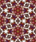 Bezszwowy wzór kolorowy kwiatu kalejdoskop Fotografia Stock