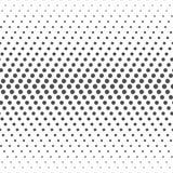 Bezszwowy wzór kropki Kropkowana tapeta Obrazy Stock