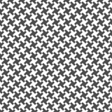 Bezszwowy wzór krzyże geometryczny tło Obraz Stock