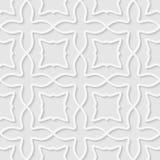 Bezszwowy wzór kształty Zdjęcie Stock