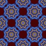 Bezszwowy wzór mandala ornament Obrazy Royalty Free