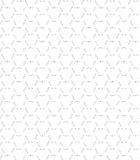 Bezszwowy wzór na bielu Obrazy Royalty Free