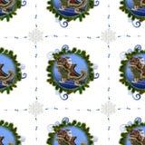 Bezszwowy wzór na boże narodzenia theme-2 zdjęcia royalty free