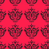 Bezszwowy wzór na różowym tle Fotografia Stock