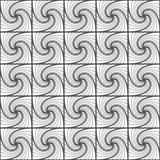 Bezszwowy wzór przeplatający kwadraty i linie Geometryczny plecy ilustracji