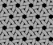 Bezszwowy wzór przeplatający włókno również zwrócić corel ilustracji wektora ilustracja wektor