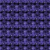 Bezszwowy wzór purpurowy ametyst Ilustracji