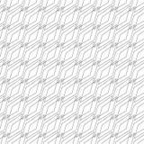 bezszwowy wzór rhombuses liniowe tło ilustracja wektor