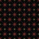 Bezszwowy wzór symboliczne gwiazdy Zdjęcie Royalty Free