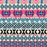 Bezszwowy wzór w aztec stylu Obraz Royalty Free