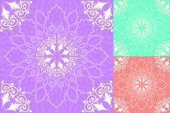 Bezszwowy wzór w islamskim stylu Fotografia Royalty Free