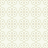 Bezszwowy wzór w islamskim stylu Obrazy Royalty Free