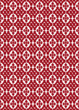 Bezszwowy wzór w Japońskim stylu z stylizowanymi kwiecistymi kształtami a Fotografia Stock