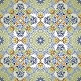 Bezszwowy wzór w mozaika etnicznym stylu. Zdjęcie Royalty Free