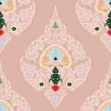 Bezszwowy wzór w tradycyjny Tajlandzkim Zdjęcie Royalty Free