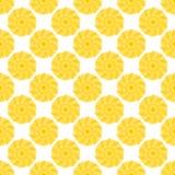 Bezszwowy wzór z abstrakcjonistycznym koloru okręgiem Fotografia Stock