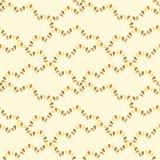 Bezszwowy wzór z abstrakta wzoru fala Obraz Stock