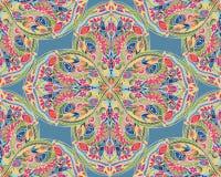 Bezszwowy wzór z arabesk w retro stylu Fotografia Stock