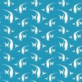 Bezszwowy wzór z banderki ryba Zdjęcie Royalty Free