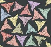 Bezszwowy wzór Z bluszczy liśćmi Obraz Royalty Free