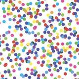 Bezszwowy wzór z confetti ilustracji