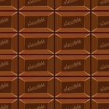 Bezszwowy wzór z czekoladą texture-8 Fotografia Stock