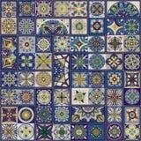 Bezszwowy wzór z dekoracyjnymi mandalas Rocznika mandala elementy Fotografia Royalty Free