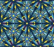 Bezszwowy wzór z dekoracyjnymi piórkami Zdjęcie Stock
