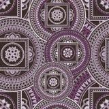 Bezszwowy wzór z etnicznym ornamentem Obraz Royalty Free