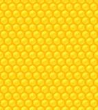 Bezszwowy wzór z honeycomb ilustracji