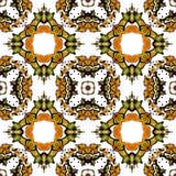 Bezszwowy wzór z kalejdoskopem Fotografia Royalty Free