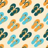 Bezszwowy wzór z kolorowymi trzepnięcie klapami Obraz Royalty Free