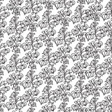 Bezszwowy wzór z kreskówki pęcherzycą ilustracji