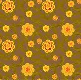 Bezszwowy wzór z kwiatami Obraz Stock