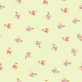 Bezszwowy wzór z małymi kwiatami Obrazy Stock