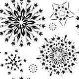 Bezszwowy wzór z marihuana liśćmi ilustracji