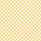 Bezszwowy wzór z modnym eleganckim komórki Gingham w lato żółtych kolorach Fotografia Royalty Free