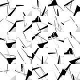 Bezszwowy wzór z mozaiką przypadkowi kształty ilustracja wektor