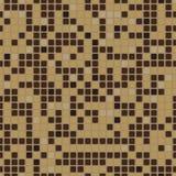 Bezszwowy wzór z mozaika skutkiem Obrazy Stock