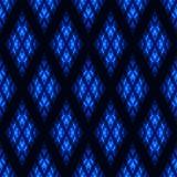 Bezszwowy wzór z neonowym owalem Fotografia Royalty Free