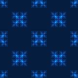 Bezszwowy wzór z neonowymi kwadratami Obrazy Royalty Free