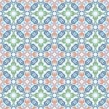Bezszwowy wzór z ornamentacyjnym orientalnym arabeskiem ilustracja wektor