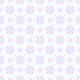 Bezszwowy wzór z płatkami śniegu Obraz Stock