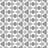 Bezszwowy wzór z różnorodnymi geometrical postaciami ilustracji
