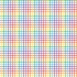 Bezszwowy wzór z tęcza kolorami Fotografia Stock