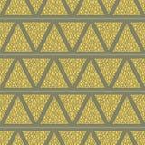 Bezszwowy wzór z trójbokami Obraz Stock
